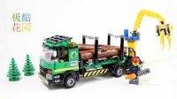 【极酷花园】乐高 城市模型『伐木工程车』制作过程(60059)【乐高创乐系列】