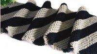 温暖你心毛线店 第200集双色平针斜织男士围巾的织法手工编织针法