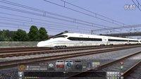 模拟380D成都东出站加速