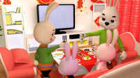 《火火兔学前英语》大班第8课 chinese new year