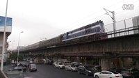 [火车]DF5+25G+S25B客列 通过广铁沙段长沙站北客线