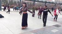西宁中心广场藏族锅庄视频20《藏流扎西秀》