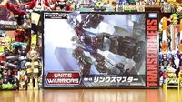 【红老弟转载】日本达人变形金刚定格动画 合体战争日版UW-EX天空霸主