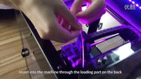 WEEDO F150 Tutorial 1 Loading Filament