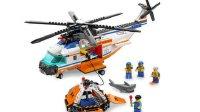 乐高积木玩具 我的城市:直升机海面救援 怒海援救 4399小游戏