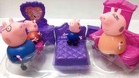 小猪佩奇的新家具粉红猪小妹乔治猪亲子玩具拆封
