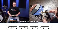 ★ME威律动★Single Stroke Roll - Drumeo 军鼓40条 (1)