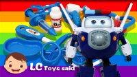 超级飞侠包警长和玩具套装