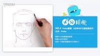 【十分绘画】独家中字·Proko素描!3分钟GET正脸绘画技巧