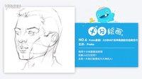 【十分绘画】独家中字·Proko素描!3分钟GET侧颜绘画技巧