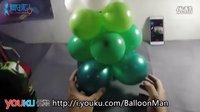 [气球人教程]魔术气球制作的圣诞树(圣诞系列教程 3/3)