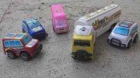 飞燕传媒 玩具车视频 学习色彩颜色汽车玩具总动员 儿童玩具视频286