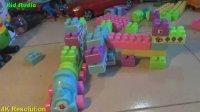 飞燕传媒玩具积木动物 形状拼图益智玩具视频学习颜色形状 儿童玩具视频  274