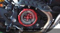 杜卡迪 怪兽 821 换透明离合器盖 Ducati Monster 821