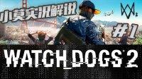 Watch dog看门狗2 小莫流程游戏实况解说 第一期