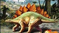 侏罗纪恐龙世界剑龙简笔画 儿童益智手绘亲子美术教育启蒙