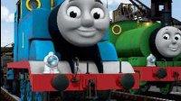 看颜色识形状 托马斯小火车巧妙过河拆桥补路 河流挡不住聪明托马斯