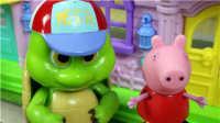 【知识渊博的乌龟】小猪佩奇粉红猪小妹佩佩猪熊出没托马斯小火车狗狗巡逻队亲子故事