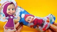 玛莎和熊棉花糖小零食圣诞袜礼袋