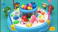 【玩趣屋海底小纵队玩具第一季】海底小纵队成员们比赛钓鱼
