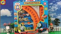 【玩具拆箱】熊出没光头强开托马斯小火车玩具 托马斯和他的朋友们
