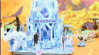 冰雪奇缘 冰雪公主搭建冰雪宫殿 立体拼图玩具 趣盒子