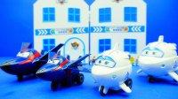 超级飞侠 滑行飞机 酷雷 米莉 过家家玩具