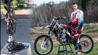 《美骑快讯》第114期 他用FOX避震器做义肢 重新骑上越野摩托