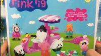 【小猪佩奇佩佩猪玩具】粉红小猪佩奇玩具车拆箱 超级飞侠2