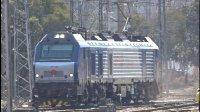 [火车]HXD2B单机通进入 上局宁东 南京东站