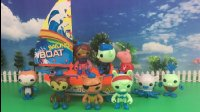 【小猪佩奇佩佩猪玩具】小猪佩奇玩具 海底小纵队玩具拆箱视频