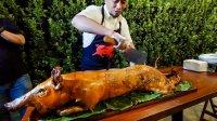 【屌丝吃大街】菲律宾慢火烤乳猪(菲律宾第5日)