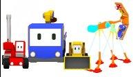 迷你卡车 🚚  第26集 组装巨型秋千 👶 幼儿教育卡通 20分钟周末合集