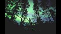 芬兰风光  极光与星轨