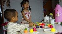 益智玩具271 亲子游戏水果切切看过家家玩具玩具总动员 厨房玩具煮饭过家家的故事