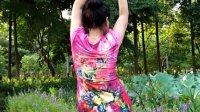琼花舞集:手机竖屏:亚艺公园即兴洒意跳短视频配歌:鲜花盛开的村庒