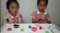 小猪佩奇做草莓 彩泥橡皮泥超级大桶装儿童玩具