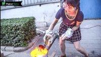 女白领上班做烤炉, 月入10万!