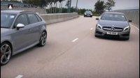 对比丨奔驰A45 AMG vs 奥迪RS3