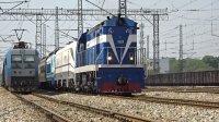 [火车][多机]DF5+HXD1G+SS8+25G 捞刀河出站 广铁沙段捞刀河