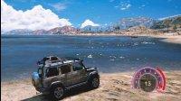 亚当熊GTA5 小富开奔驰G500跨过山和大海