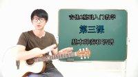 【小鱼吉他屋】吉他0基础入门教学 第三课 基本弹奏和识谱