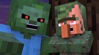 Minecraft动画--村民和女巫的故事【5】完结