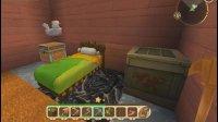 亚当熊 迷你世界双人生存联机01, 悲催的开局, 打造新家