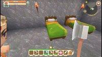 亚当熊 迷你世界双人生存联机02, 打造地下室, 挖矿中心