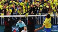 2017世界男排联赛第1组总决赛小组赛第一轮巴西vs加拿大比赛录像