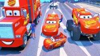 消防车忙救火 车上被烧黑 托马斯和他的车车朋友们