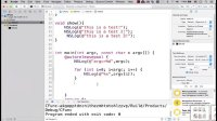 Objective-C语言main函数中的默认参数