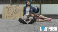 一个毒品上瘾者和一位父亲谁讨到的钱最多? 社会实践【Youtube碉堡奇趣】