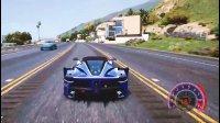 亚当熊GTA5 土豪麦克开法拉利飙车,加油模组上线